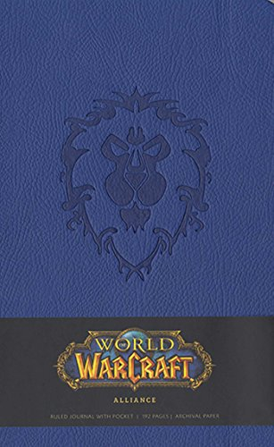 World of Warcraft Alliance Hardcover Ruled Journal (Large) (Gaming)