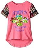 Teenage Mutant Ninja Turtles Little Girls' T-Shirt Shirt, Pink, 4
