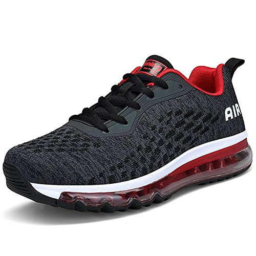 Chaussures Fitness De Rouge Shoes Homme Sneakers Femme Running noir Sport Respirante Casual Course 5p1Zqw1