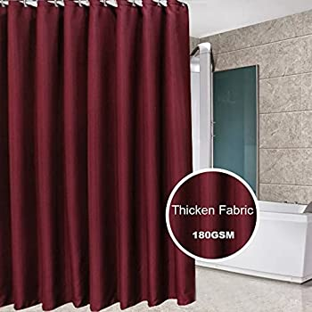 Beautiful Eforcurtain Water Proof Mold Free Thick Fabric Shower Curtain Anti  Bacterial, Extra Long 72 Inch