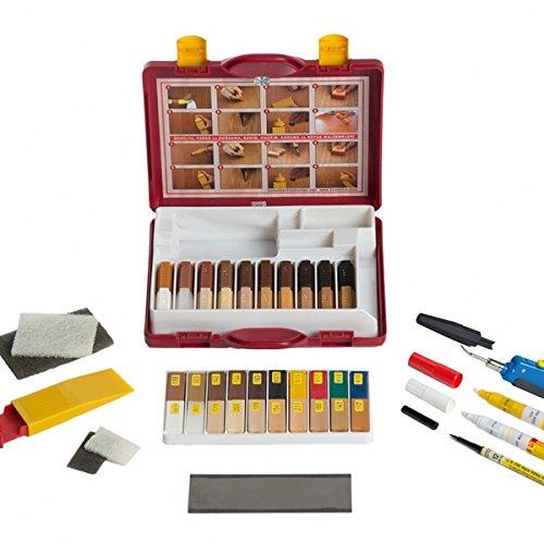 Kementas Repair Set for Interior and Exterior Area - Furniture, Parquet, Wood Repair Kit For Interior and Exterior