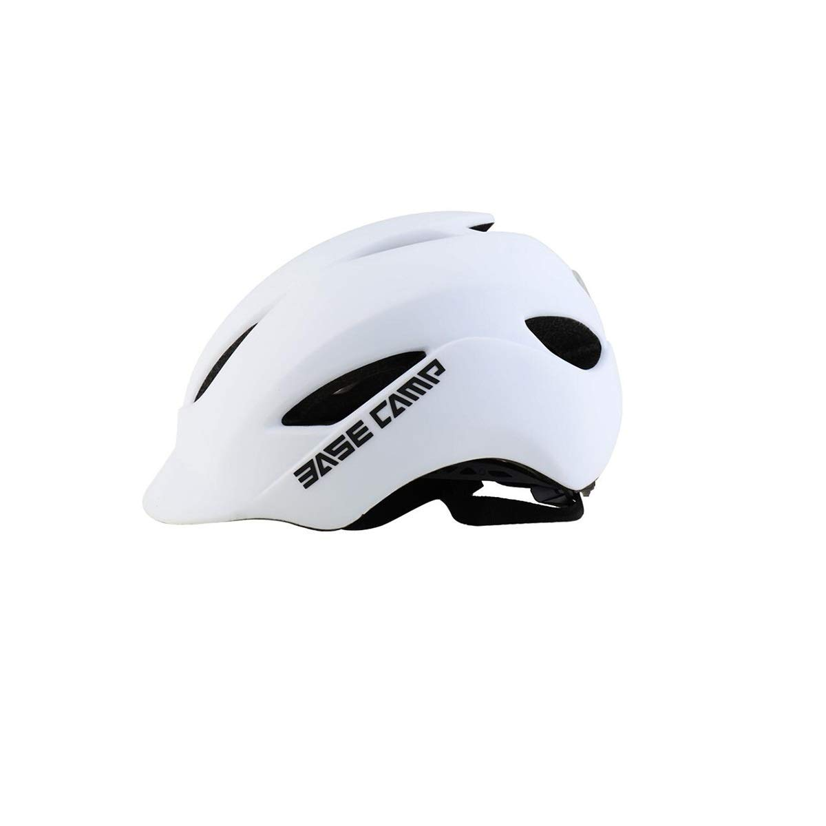 Bicycle Safety Helmet, CPSC Safety Certification/LED Light/Suitable for Adult Male/Female/Castle Peak Road, Size Helmet (Color : White) None