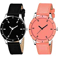 Drealex Combo Set of 2 Analogue Multi-Colour Dial Girls and Women's Watch -DR152-01
