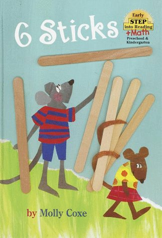 6 Sticks (Early Step into Reading + Math) ()