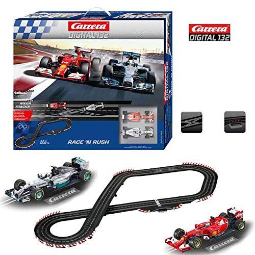 (Carrera Digital 132 - Race 'N Rush Race Set)