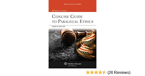 Concise guide to paralegal ethics aspen college series kindle concise guide to paralegal ethics aspen college series kindle edition by therese a cannon professional technical kindle ebooks amazon fandeluxe Gallery