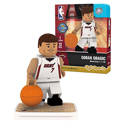 - OYO Sports NBA Minifigure Miami Heat Goran Dragic