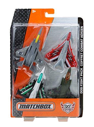 Matchbox Sky Busters Dog Fight Flying Vehicles Bundle 4 Pack