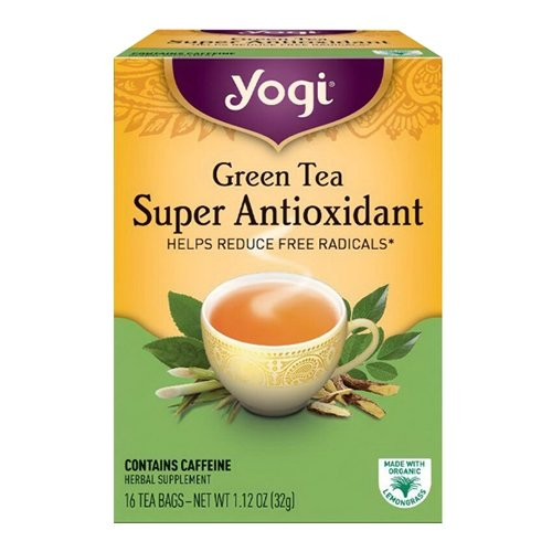 Yogi Tea - Green Tea Super Antioxidant, 16 bag