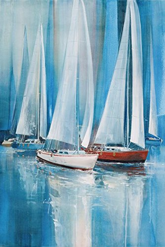 The Perfect Effect Canvas Of Oil Painting 'the Sailing Boats' ,size: 12x18 Inch / 30x46 Cm ,this Replica Art DecorativePrints On Canvas Is Fit For Gym Decoration And Home Gallery (Up Town Funk Costumes)