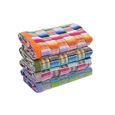 Kpblis174;10-Pack Luxury Towels - Maximum Softness and Absorbency,Easy Care,Hand Towels,0.1LB(10  x 19 )
