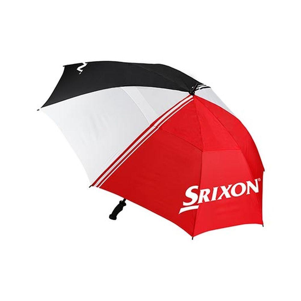 Srixonスタッフ傘(ブラック/レッド/ホワイト) 62