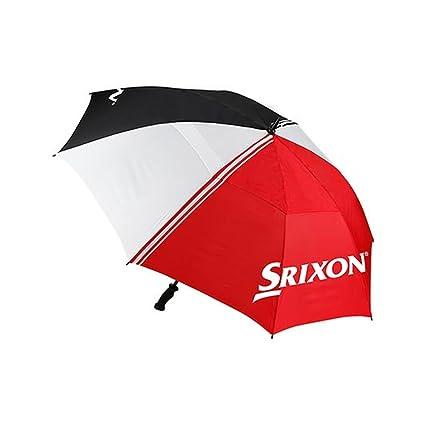 Amazon.com: Srixon paraguas de Personal (Negro/Rojo/Blanco ...