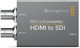 Black Magic Blackmagic Design Micro Converter Hdmi To Sdi With Power Supply Bmd Convcmic Hs Wpsu Amazon Ae