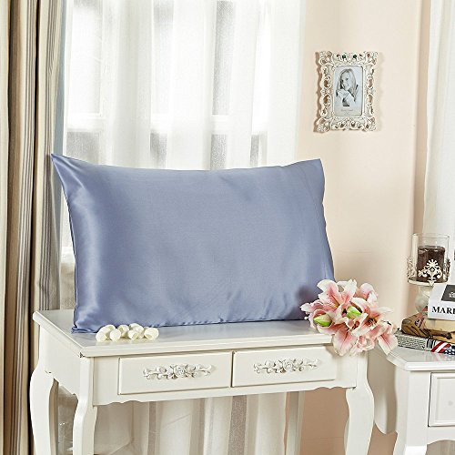 LILYSILK Toddler Pillowcase Mulberry Underside product image