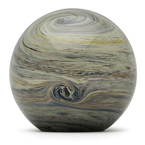 (Glass Handmade Large Paperweight - Jupiter Glow - 4