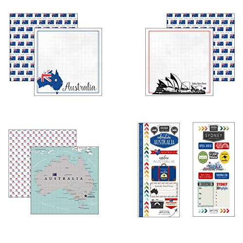 Scrapbook Customs Australia Adventure Scrapbook - Australia Custom