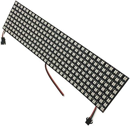 Ws2812 5050 8x32 RGB Flexible LED Matrix Panel Addressable Programmable Pixel for sale online