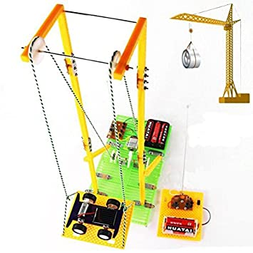 DIY Assembly Educational Toys Model RC Electric: Amazon co