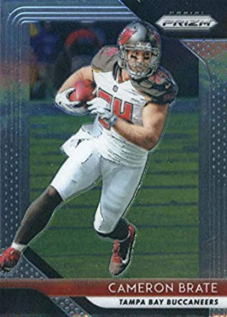 0fe2020fe 2018 Panini Prizm Football  17 Cameron Brate Tampa Bay Buccaneers Official  NFL Trading Card