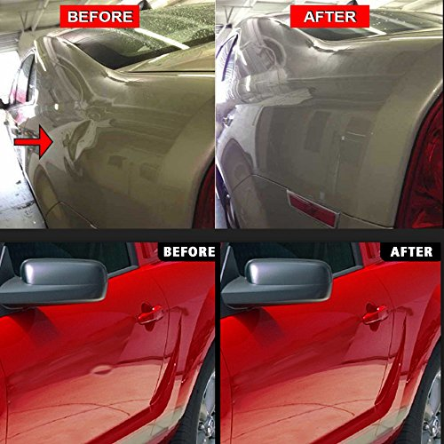WHDZ Paintless Dent Repair Tools Kit, Tool Kit for Hail Damage Removal - 21pcs Paintless Dent Rods Dent Puller Slide Hammer Dent Lifter Glue Gun Tap Down Light Reflect Board Auto Dent Repair Kit by WHDZ (Image #6)