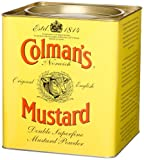 Colman's Double Superfine Mustard Powder, 4 Pound 6 Ounce Tin