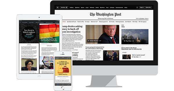 Amazon com: The Washington Post Digital Access: Memberships and