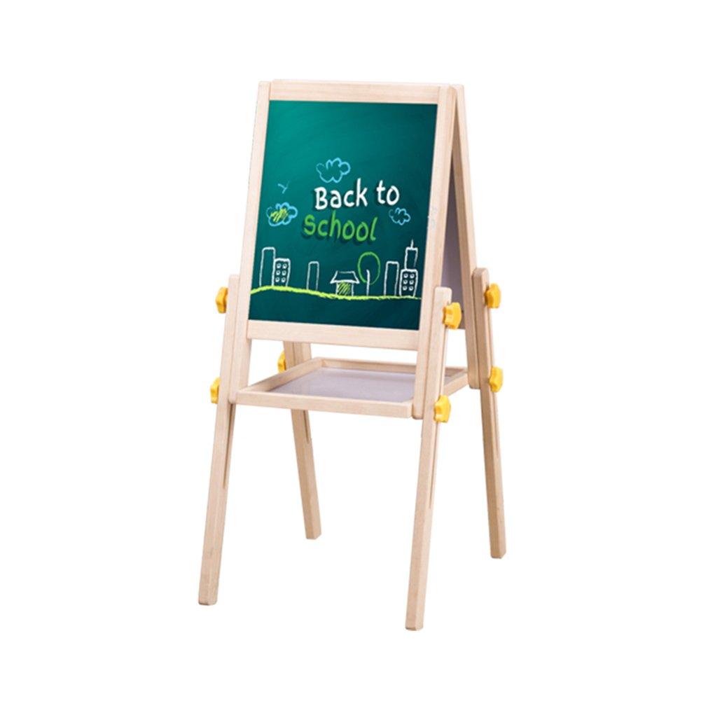 LXLA- 子供の木製イーゼル両面調整可能なスケッチブックブラケットタイプ黒板キッドワードパッドベビーグラフィティボード家庭教育 (サイズ さいず : (サイズ 40×32cm) さいず 40×32cm : B07DND93PK, サイワイク:278f9792 --- ijpba.info