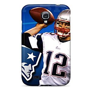 KevinCormack Galaxy S4 Durable Hard Cell-phone Cases Provide Private Custom Realistic New England Patriots Skin [INp3358QEvu]