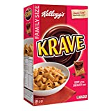 Kellogg's Krave Chocolatey Cereal Family Size 564 Gram