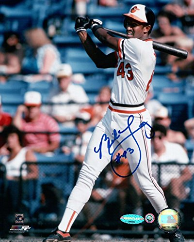 Mike Young Signed 8X10 Photo Autograph Baltimore Orioles Swinging Auto MLB COA