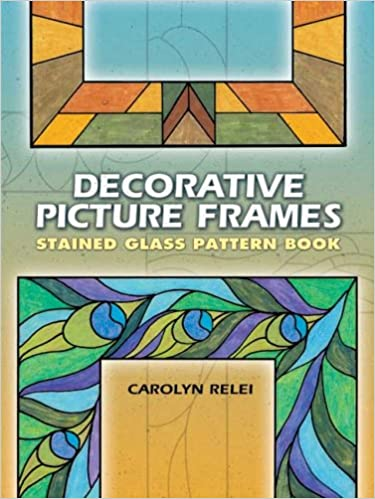 Amazoncom Decorative Picture Frames Stained Glass Pattern Book