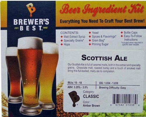 Brewer's Best Scottish Ale Kit by Brewer's Best