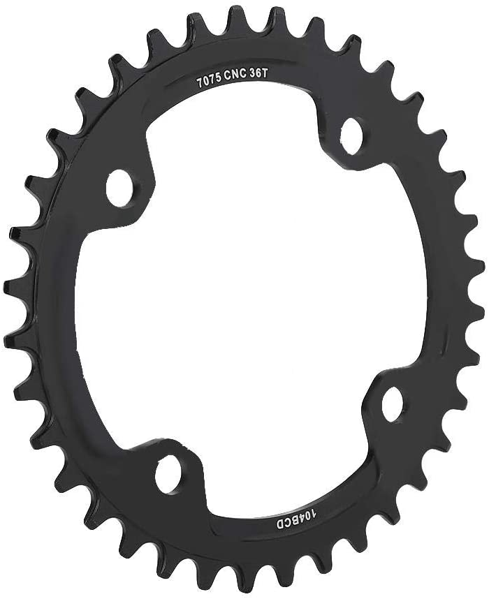 Details about  /104 BCD 30-38T MTB Bike Narrow Wide Chainring BUCKLOS Colorful Single Chainwheel