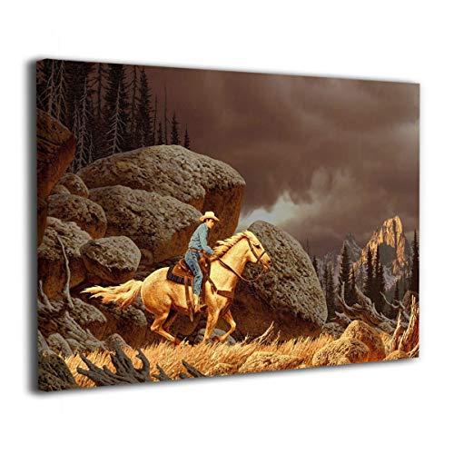 Cowboy Framed - 6