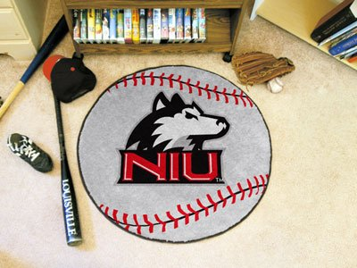 Illinois University Baseball Rug (Northern Illinois University Baseball Rug)