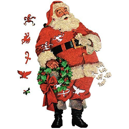 Smithsonian Jolly Old Saint Nick Wooden (Jolly Ole St Nick Santa Costumes)