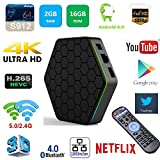 Black Friday Android 6.0 TV Box , ODGear T95Z Plus Amlogic S912 Smart TV Box Octa Core 2GB DDR3+16GB Dual-band WiFi Kodi 16.1, 2.4G +5G +Bluetooth 4K HD Streaming Media Player