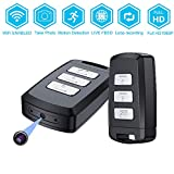 Hidden Camera Mini Car Keychain WiFi DVR Spy Recorder -BSTCAM 1080P Mini Portable