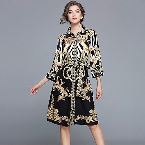 a15b17227e new kekafu La mujer va Casual funda una línea diaria vestido ...