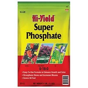 Voluntary Purchasing Group 32115Super fosfato Plant fertilizantes, 0, 18–0, 4-Lbs.