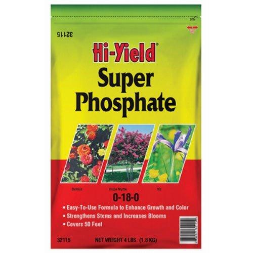 Voluntary Purchasing Group 32115 Fertilome Hi Yield Super Phosphate Plant Fertilizer, 4-Pound