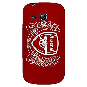 Fashion Design FC Arenal Football Club Phone Case Cover For Samsung Galaxy S3mini 3D Plastic Phone Case