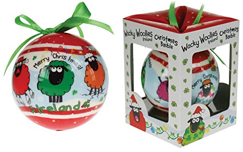 (Dublin Gift Wacky Woolies Christmas Ornament)