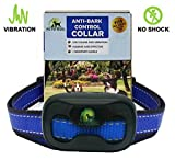 Training Dog Collar - [2017 NEW CHIP] Pro Pet Works No Bark Dog Collar NO SHOCK Bark Control Training Collar For Small Medium And Large Dogs Humane And Safe Bark Deterrent 15-150lbs 9.6in-27.2in
