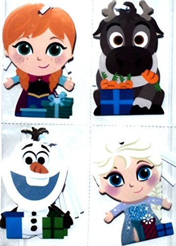 Disney Gift Tags - Disney Frozen Gift Tags, Embellishments, Pack 8-Count, 2.5