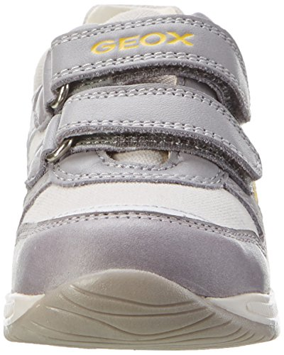 Geox B Rishon Boy C, Botines de Senderismo para Bebés Gris (Grey/whitec0579)