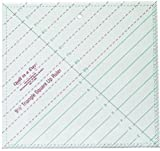Quilt In A Day Triangle Square Up Ruler-9-1/2x9-1/2