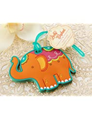 Lucky Elephant Luggage Tag -144 count
