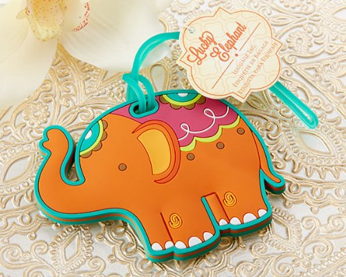 Lucky Elephant Luggage Tag -72 count by FavorWarehouse